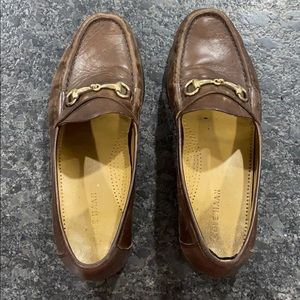 Men's Cole Haan Dark Brown Penny Loafers!